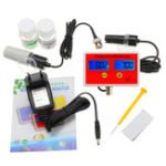 New PH-2791 PH/EC 2-in-1 Detector Water Quality Online Analyzer Resolution 0.01pH  ±2%F.S PH Meter