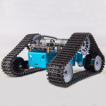 New Kittenbot DIY RC Robot Car Tank Plastic Crawler Belt Educational Kit With DC Motor