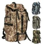 New 80L Outdoor Tactical Bag Climbing Backpack Waterproof Sports Travel Hiking Camping Rucksack