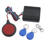 New Motorcycle Alarm Security Anti theft RFID Hidden Lock IC Card System