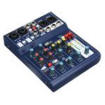 New Mini 6 Channel USB Portable Audio Mixer 48V Phantom Mixing Console Karaoke