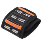 New Magnetic Wristband w/ Strong Magnets Holds Screws Nails Bits Repair Hand Easy Carry Gadget