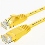 New SAMZHE 1~15M CAT6 UTP 1000Mbps Gigabit Flat RJ45 Ethernet Patch Cable Networking LAN Cable