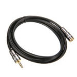 New Choseal QS3402 3.5mm Male to Female Audio Headphone Earphone Extension AUX Cable