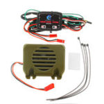 New HG P402 P407 P601 P801 P802 1/10 1/12 Universal Rc Car Parts WE8021 Engine Sound System