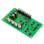New 3V-36V DC H-Bridge Dual Motor Driver Drive Module Board MOSFET IRF3205 with Brake Function