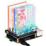 New 8 WS2812 RGB LED lights NightLight Hat Board For Raspberry Pi