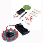 New 5pcs DIY 4017 Running Water Light NE555 LED Horse Race Lamp Flash Kit