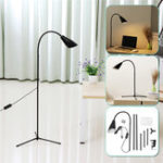 New Adjustable LED Floor Lamp Light Standing Reading Home Office Dimmable Desk Table
