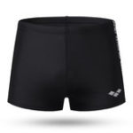 New Printing Black Sport Swim Shorts for Men