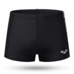 New Printing Black Sport Swim Shorts for Men