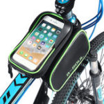 New BIKIGHT 1.5L Bike Bag 6.2″ Touch Screen Phone Case Waterproof Bicycle Cycling Front Tube Bag