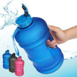 New 2.2L Outdoor Sports Portable Water Bottle Fitness Gym Dumbbell Drinking Cup Kettle Camping Hiking