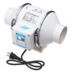 New 220V 35W 3 Inch Inline Duct Hydroponic Air Blower Ventilation System Exhaust Vent Fan