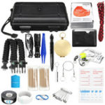 New  177Pcs Survival Tools Kit Emergency Survival Kit Multi-Tools First Aid Supplies Survival Gear EDC Gadget Tool Set  for Camping Hiking Hunting
