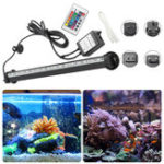 New  AC110-120V/220-240V RGB 32CM SMD5050 IP68 Fish Tank Submersible Air Aquarium LED Rigid Strip Light