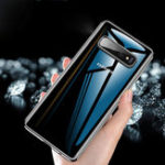 New Cafele Protective Case For Samsung Galaxy S10 Plus 6.4 Inch Clear Plating Anti Fingerprint Soft TPU Back Cover