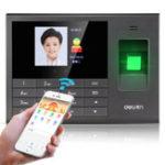 New Deli Fingerprint Attendance Machine Face Recognition Machine Integrative Carding Machine Wireless Carding Artifact