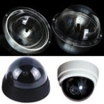 New 4 Inch Ultraviolet Resistance Acrylic Clear Monitoring Camera Cover Dome Housing Indoor / Outdoor