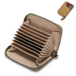 New Women Genuine Leather RFID Antimagnetic Wallet