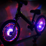 New XANES® WL09 Bicycle Wheel Light USB Charging Night Cycling Lamp Waterproof Bike Light