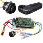 New Single Motor Electric Controller With ESC Control Module Cable For Longboard Skateboard