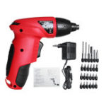 New 25Pcs 4.8V Cordless Electric Screwdriver Multifunctional Rechargable Power Screw Driver Tool