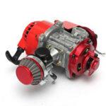 New 49cc 2-stroke Manual Racing Engine Minimoto Mini Pocket Air Cooled ATV Dirt Bike
