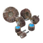 New 15-80mm 80 Grit Sanding Flap Wheel Disc Abrasive Grinding Wheel Accessories Tool 6mm Shank For Drill