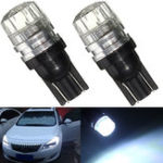 New T10 W5W COB LED Side Marker Wedge Lights Canbus Reading Bulb 12V 1.5W 40LM 6000K 2PCS