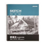 New Deli 7698 Professional Art Painting Paper A4 Sketch Paper Sketchbook 40 Pages/Book