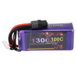 New MY Red Beret 14.8V 1300mAh 100C 4S Lipo Battery XT60 Plug for Eachine Tyro99 RC Drone