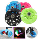 New 100mm LED Flash Light Up Wheels For Mini Micro Scooter With 2 ABED-7 Bearings