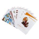 New DIY Handcraft Painting Paper Model Kit Instruction Manual Book