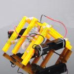 New DIY RC Walking Robot STEAM Educational Kit Gift For Children