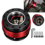 New Universal Aluminum Alloy Steering Wheel Quick Release Hub Adapter Off Boss Kit
