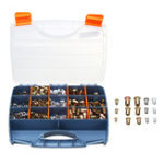New 900Pcs Nutsert Tool Kit M3 M4 M5 M6 M8 M10 Steel Rivnut + Nut Insert Riveter Riveting Tool