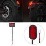 New BIKIGHT Scooter Brake Light with Line For Xiaomi M365 Electric Scooter Stoplight Brake Lamp