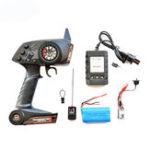 New WPL 2.4G Gear Box Transmitter Set W/ Battery For B1 B16 B24 B24ZH C14 C24 RC Car