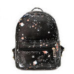 New Women Faux Leather Galaxy Pattern Outdoor Shoulder Bag
