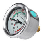 New 400bar/6000psi PCP Hydraulic Air Pump Pressure Gauge With M10 Fixed Copper Screw