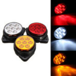 New Car Round 7 LED Side Marker Lights Indicator Clearance Replacement Lamp Truck Trailer