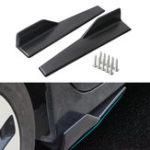 New 45cm Car Black Side Skirts Rocker Spiltters Winglet Wings Decorations for BMW E90 E91 E92 E93 E46 F80 30 F31 F32