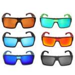 New DUBERY D729 Polarized Sunglasses Square UV400 Outdoor Sports Cycling Driving Sunglasses Men Women