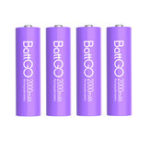 New 4Pcs ISDT 1.5V 2000mAh Rechargeable AA Lipo Battery for ISDT C4 N8 Charger