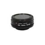 New SJCAM SJ8 Air PLUS PRO 40.5mm 4 in 1 CPL UV Lens Filter Cap