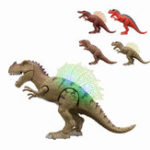 New Walking Dinosaur Spinosaurus Light Up Kids Toys Figure Sounds Real Movement LED With Projection
