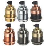 New E27 Vintage Copper Edison Light Bulb Adapter Lamp Holder for Pendant Lighting AC110-250V
