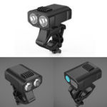New XANES® DL21 1200LM 2-XPE LED Bicycle Headlamp Waterproof Bike Front Light 3000mAh 5 Modes USB Charging Night Riding