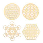 New 4PCS Energy Tower Pattern Paste Copper Skin Sticker For DIY Making Mould Craft Jewelry Tool